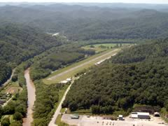 Aerial photo of 9KY9 (Paintsville-Prestonsburg-Combs Field Airport)
