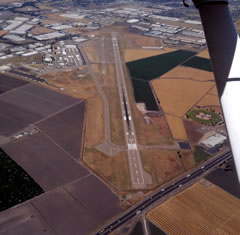 Aerial photo of KSCK (Stockton Metro Airport)