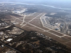 Aerial photo of KCHS (Charleston Air Force Base/International Airport)