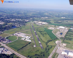 Aerial photo of KRYV (Watertown Municipal Airport)