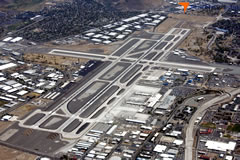 Aerial photo of KRNO (Reno/Tahoe International Airport)