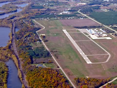 Aerial photo of KRGK (Red Wing Regional Airport)
