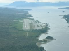Aerial photo of PAKT (Ketchikan International Airport)