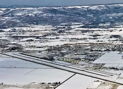 Aerial photo of KHCR (Heber Valley Airport)