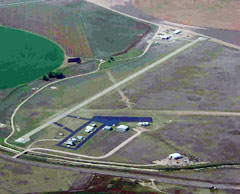 Aerial photo of 36K (Kearny County Airport)