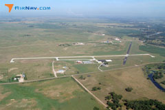 Aerial photo of 4V9 (Antelope County Airport)