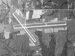 Aerial photo of KEOK (Keokuk Municipal Airport)