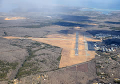 Aerial photo of KMVY (Martha's Vineyard Airport)