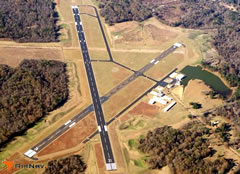 Aerial photo of KHEZ (Hardy-Anders Field Natchez-Adams County Airport)