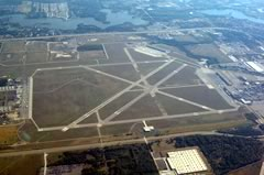 Aerial photo of KYIP (Willow Run Airport)