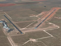 Aerial photo of F98 (Yoakum County Airport)