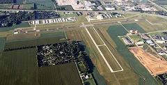 Aerial photo of KVPZ (Porter County Regional Airport)