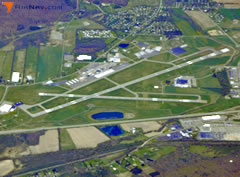 Aerial photo of KELM (Elmira/Corning Regional Airport)