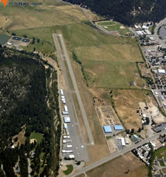 Aerial photo of 2O1 (Gansner Field Airport)
