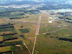 Aerial photo of KOFK (Norfolk Regional Airport/Karl Stefan Memorial Field)