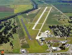 Aerial photo of KTKX (Kennett Memorial Airport)