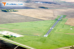 Aerial photo of KMOX (Morris Municipal Airport - Charlie Schmidt Field)