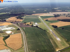 Aerial photo of W40 (Mount Olive Municipal Airport)