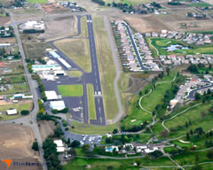 Aerial photo of O41 (Watts-Woodland Airport)