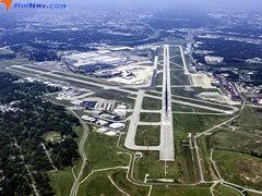 Aerial photo of KBHM (Birmingham-Shuttlesworth International Airport)