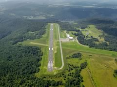 Aerial photo of KOLE (Cattaraugus County-Olean Airport)
