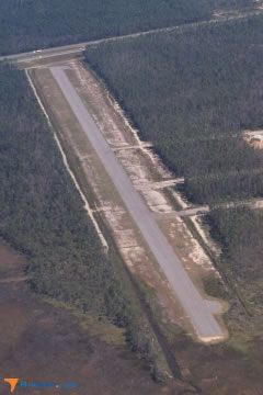 Aerial photo of 66Y (Diamondhead Airport)