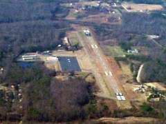 Aerial photo of W96 (New Kent County Airport)