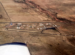 Aerial photo of 1V6 (Fremont County Airport)