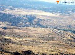 Aerial photo of KGCD (Grant County Regional Airport/Ogilvie Field)