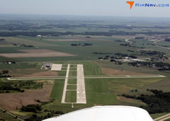 Aerial photo of KGBG (Galesburg Municipal Airport)
