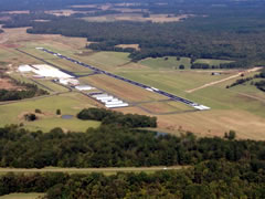 Aerial photo of KJVW (John Bell Williams Airport)