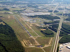 Aerial photo of KSRC (Searcy Municipal Airport)