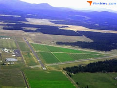 Aerial photo of KDEW (Deer Park Airport)