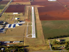 Aerial photo of 6K4 (Fairview Municipal Airport)
