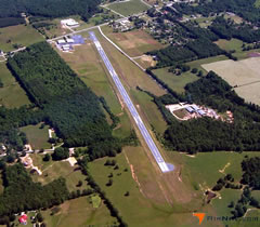 Aerial photo of 0M3 (John A Baker Field Airport)
