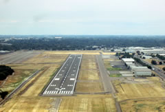 Aerial photo of KMOD (Modesto City-County Airport-Harry Sham Field)
