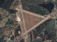 Aerial photo of KDCM (Chester Catawba Regional Airport)