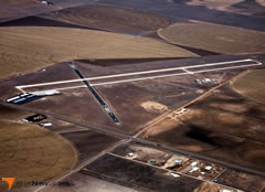 Aerial photo of KHQG (Hugoton Municipal Airport)