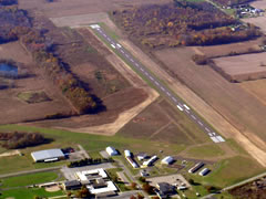 Aerial photo of C91 (Dowagiac Municipal Airport)