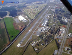Aerial photo of KMOR (Moore-Murrell Airport)