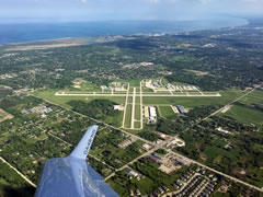 Aerial photo of KUGN (Waukegan National Airport)