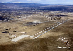 Aerial photo of KCOS (City of Colorado Springs Municipal Airport)