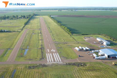 Aerial photo of 0R4 (Concordia Parish Airport)