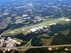 Aerial photo of KGSP (Greenville Spartanburg International Airport)