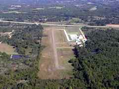 Aerial photo of M41 (Holly Springs-Marshall County Airport)