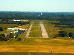 Aerial photo of 0G7 (Finger Lakes Regional Airport)