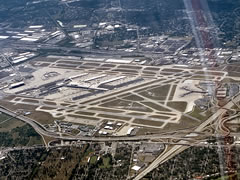 Aerial photo of KSDF (Louisville Muhammad Ali International Airport)
