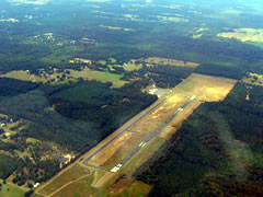 Aerial photo of KSPH (Springhill Airport)