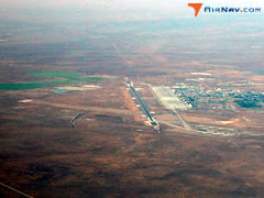 Aerial photo of KMUO (Mountain Home Air Force Base)