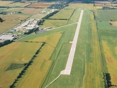 Aerial photo of KCEV (Mettel Field Airport)